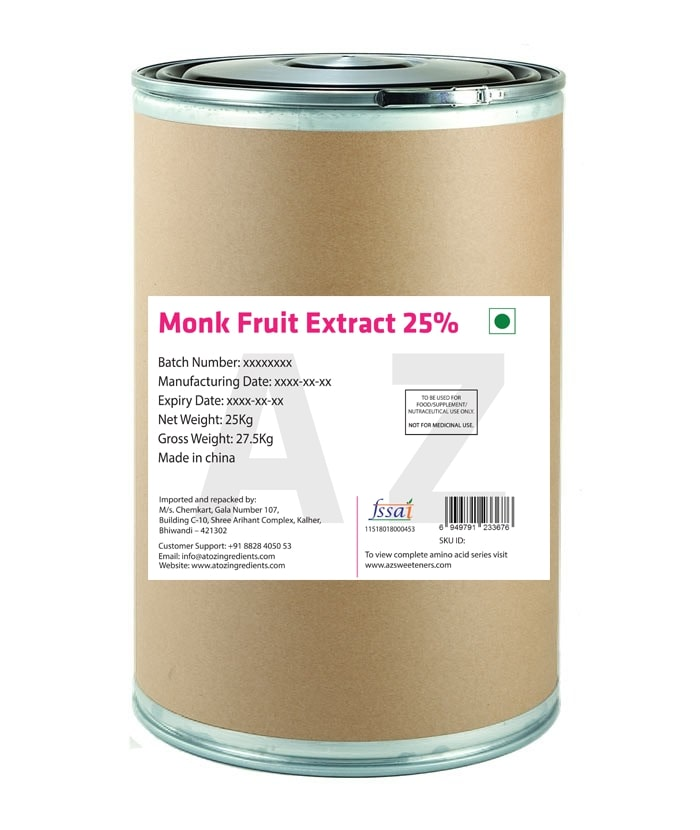 Monk Fruit Extract 25% Powder